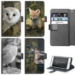 Animal Owl Phone Case Iphone 678 Plus X Pu Leather Flip Case Cover For Apple