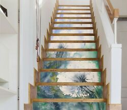 3d Dandelion Na053 Stair Risers Decoration Photo Mural Decal Wallpaper Fay