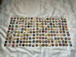 Collection Of Various Beer Bottle Tops 200 Total