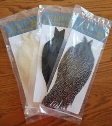 Whiting Farms High And Dry Hackle Cape   Light Ginger