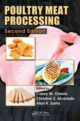 Poultry Meat Processing Hardcover By Owens Casey M. Edt Alvarado Christ...