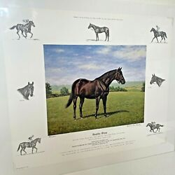 Richard Stone Reeves / Seattle Slew / 470/600 Ltd Edition Print / Signed