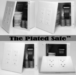The Plated Safeandtrade - A Hidden Wall Safe Disguised As A Wall Outlet
