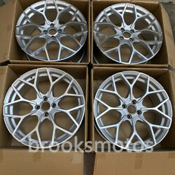 18 B Style Silver Wheels Rims Fits For Smart Fortwo W453 4x100