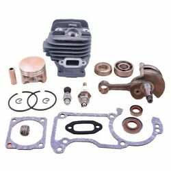 Cylinder Piston For Stihl Ms260/026/pro Chainsaw Top End Kit 44.7mm Big Bore