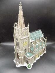 Dept 56 Christmas In The City Series Cathedral Of Saint Nicholas 59248 Euc