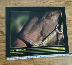 Seattle Slew 103rd Kentucky Derby 25th Anniversary Poster