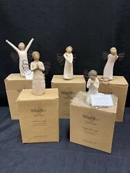 Willow Tree Lot Thank You Courage A Tree, A Prayer Angel Of Prayer Celebrate 5