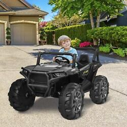 2 Seats Ride On Cars Kids Realistic Off-road Utv Ride On Truck+remote Control