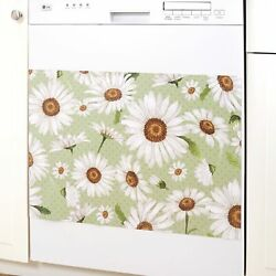 Decorative Farmhouse Daisies Dishwasher And Appliance Magnet