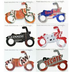 Motorcycle Christmas Ornament Handmade With A Recycled Aluminum Can You Choose