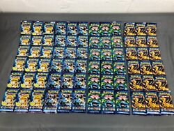 Xy Evolutions Booster Pack Lot - 72 Packs - Factory Sealed Pokemon Cards