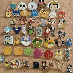 Disney Trading Pins - Huge Lot Of 50 - Le, Lr, Oe, Pins