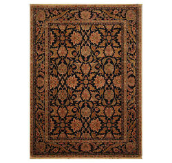 8and0398x12and039 Authentic Karastan Antique Legend Agra Black New Zealand Wool Area Rug