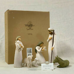 Demdaco  Willow Tree Nativity_sculpted Hand-painted Nativity Figures