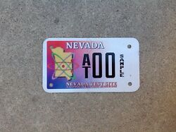 Nevada Test Site - Sample - Motorcycle License Plate - Atomic Testing Museum