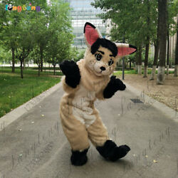 2020 Fox Dog Mascot Costume Suits Cosplay Party Game Dress Outfits Clothing Ad