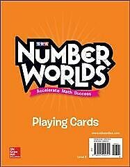Number Worlds Level E Playing Cards Paperback By Mcgraw-hill Education Co...