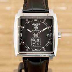 Tag Heuer Monaco Calibre 6 Automatic Watch 37mm- Boxed With Papers July 2011