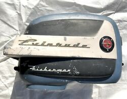 1957 Evinrude Fisherman 5.5hp Motor Cover Cowl Cowling