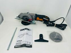 See Notes Worx Worxsaw 4-1/2 Compact Circular Saw – Wx429l