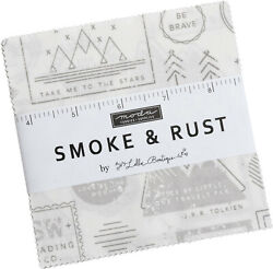 Smoke And Rust Moda Charm Pack 42 100 Cotton 5 Precut Fabric Quilt Squares