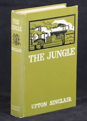 Upton Sinclair / The Jungle 1st Edition 1906