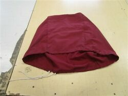 Maroon Canvas Motor Cover 27 W X 24 1/2 H X 32 D Marine Boat