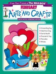 February Monthly Arts And Crafts By The Mailbox Books Staff