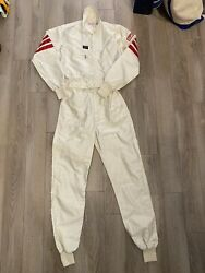 Vintage Simpson Racing Suit Nascar Made In Usa Vtg 90s