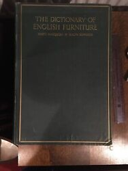 The Dictionary Of English Furniture 3 Vols Percy Macquoid And Ralph Edwards 1924