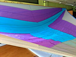 Racing/cruising Asymmetric Spinnaker 25and039 Luff 20 Leech 14and039 Foot Ready To Ship