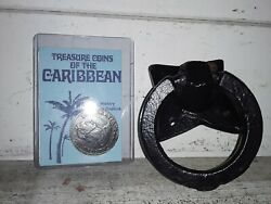 Disney Magic Kingdom Pirates Of The Caribbean Ride Prop Ring Surplus And Coin