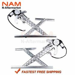 Power Window Regulator W/ Motor Fit For 1997 Ford F150 Truck Front Left Right