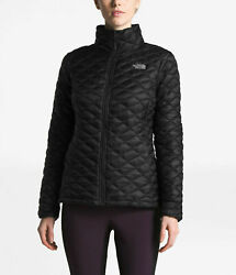 Nwt The Womenand039s Thermoball Jacket Black Size L Slim Fit