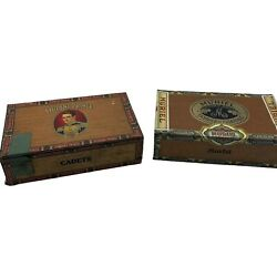 Student And Muriel Vintage Cigar Boxes - Good Overall Condition