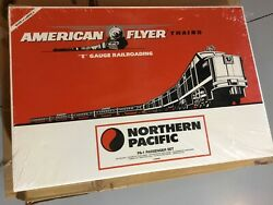 Nos American Flyer Lionel Northern Pacific Pass Train Set 6-49602 In Sealed Box