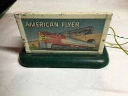 Vintage American Flyer A.c. Gilbert Steam Whistle With Control Button Working