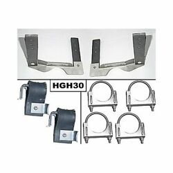 Pypes Hgh30 Exhaust Hangers Oe Style Stainless Steel 2.5 Diameter Gm A-body Set