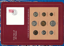 Coin Sets Of All Nations Ussr Russia W/card All 1976 20 Kopeck Unc Cat -600+