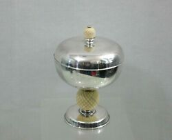 Hand Made Sterling Silver Covered Cup / Jewelry Box Modern Design Chalice Pokal