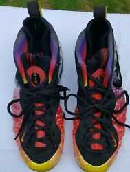 2013 Size 11 Nike Air Foamposite Pro Asteroid 13 Pre-owned Scuffs See Pictures