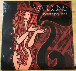 Maroon 5 - Songs About Jane - 2003 Lp 1st Pressing