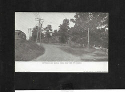 Vintage Post Card - Approaching Menlo Park And Casino - Perkasie, Pa
