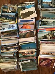 Over 1000 Vintage 1950's-1990's Post Cards