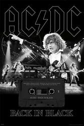 👀👍 AC DC AC DC Back In Black Poster 54298 24quot; x 36quot;