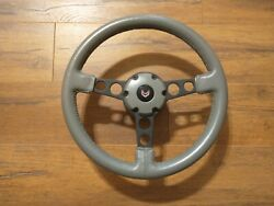 1980 79 Pontiac Transam Indy Pace Car Leather Steering Wheel Complete 10th Nos