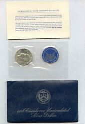 1974-s Eisenhower Dollar United States 40 Silver Uncirculated - Free Shipping