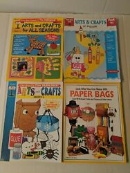 Arts And Crafts Books For Kids By Mailbox Magazine Lot Of 4