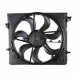 Tyc 624660 Radiator And Condenser Cooling Fan Assembly New With Lifetime Warranty